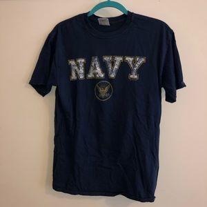 Comfort colors NAVY shirt